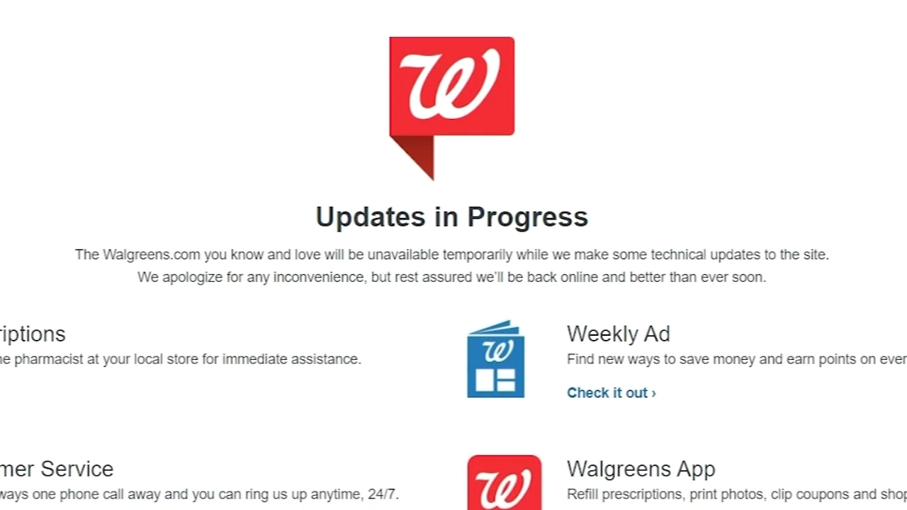 Walgreens Covid 19 Vaccine Appointment Scheduling Website Outage Resolved Abc7 New York