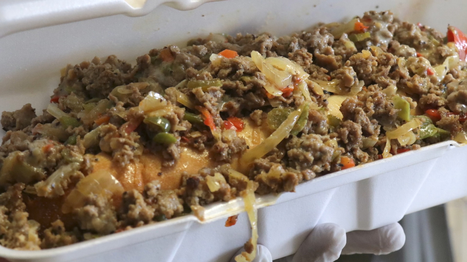 This 3-pound cheesesteak is arguably the best Philly cheesesteak around