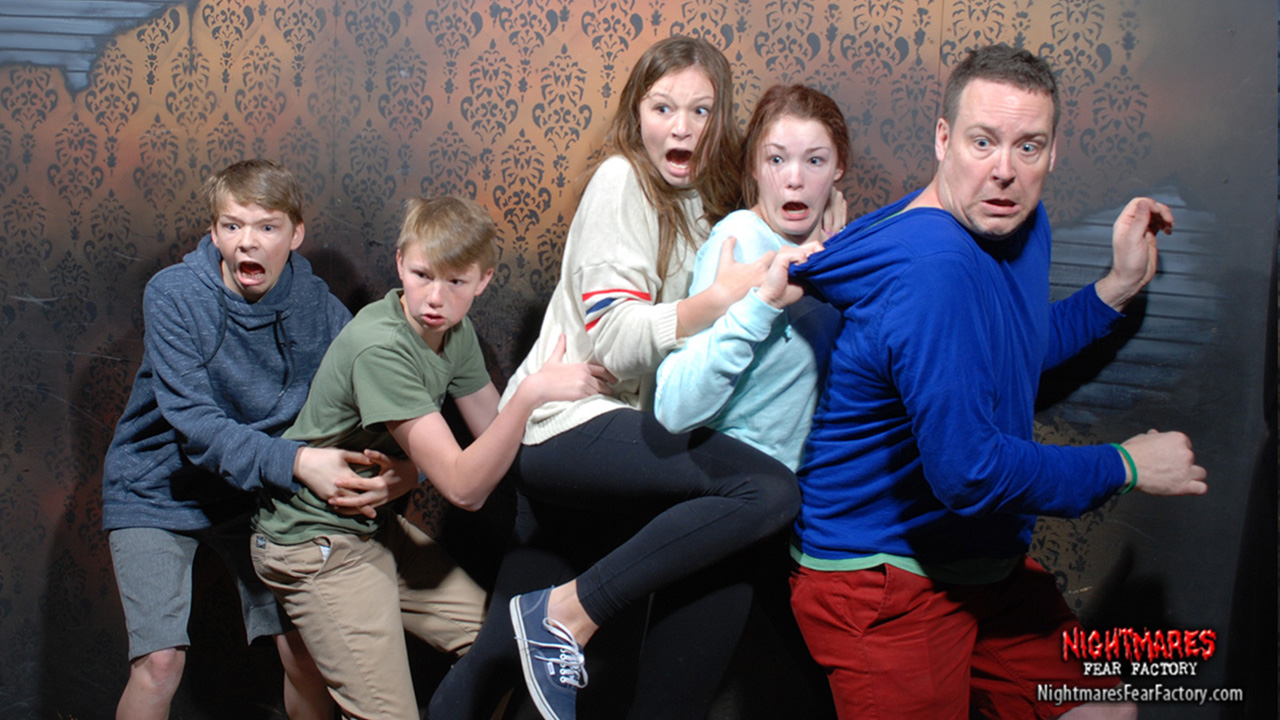 Image result for haunted house group funny picture