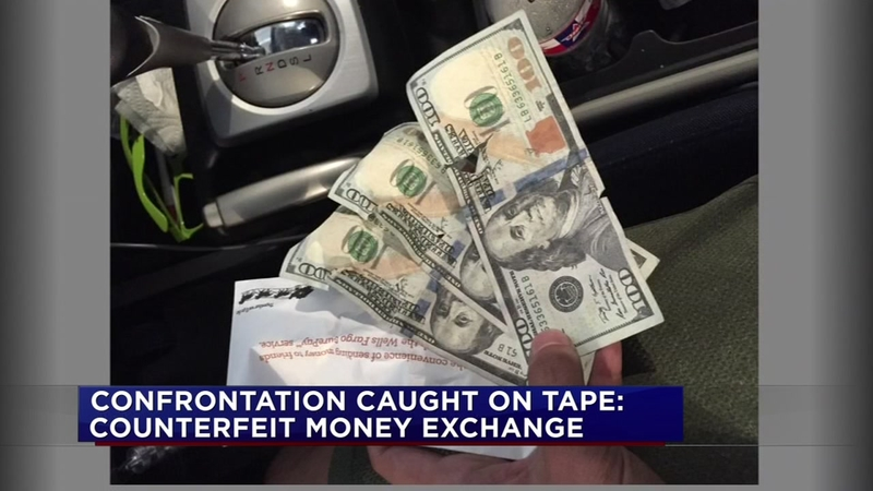 Another counterfeit cash victim steps forward
