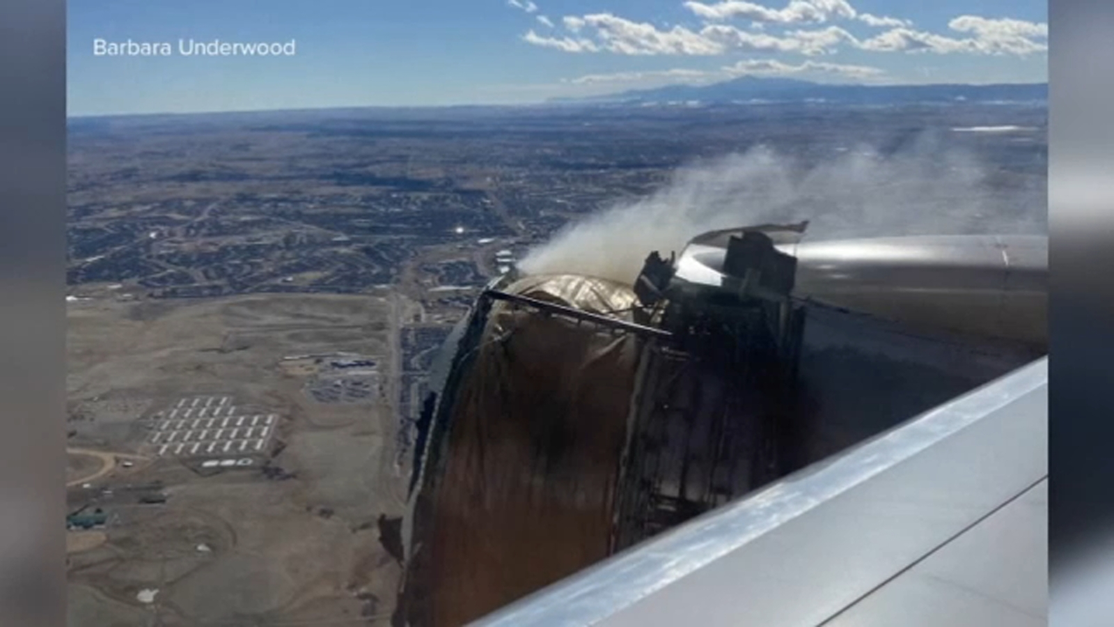 United Airlines engine failed after pilots throttled up to minimize turbulence, NTSB report says