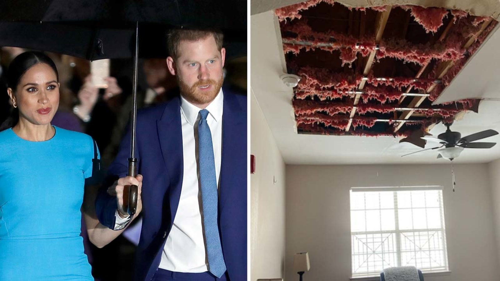Harry and Meghan Donate New Roof to Genesis Women's Shelter in Dallas After Winter Storm