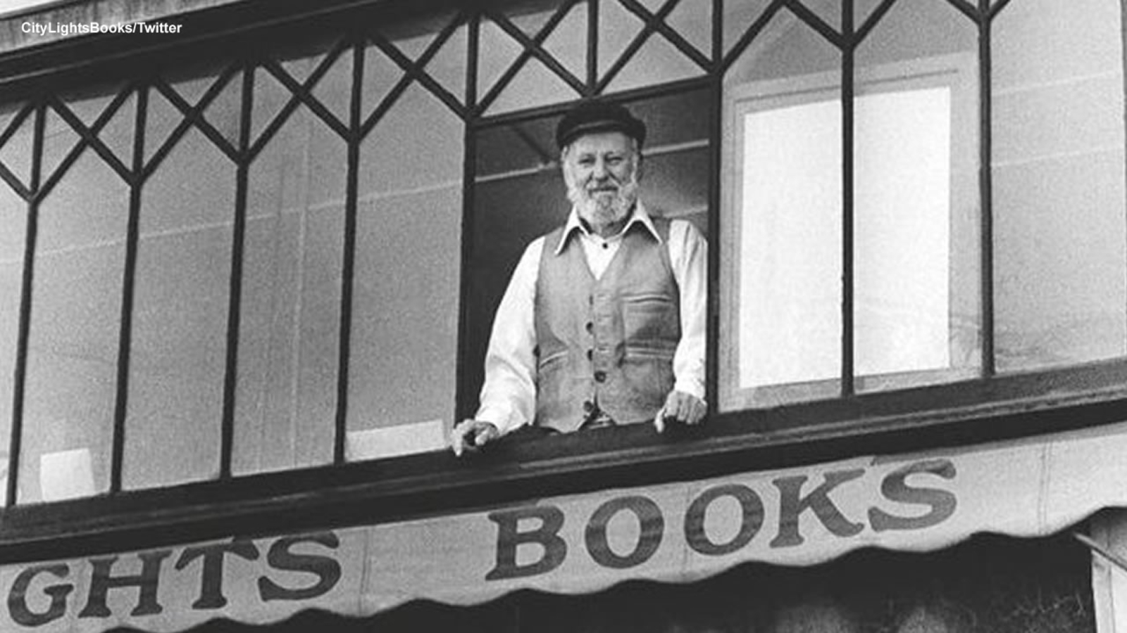 San Francisco City Lights Booksellers founder, poet Lawrence Ferlinghetti  dies at 101 - ABC7 San Francisco