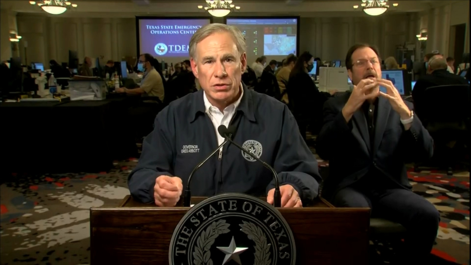 Texas power grid: Gov. Greg Abbott delivers statewide address on power outages