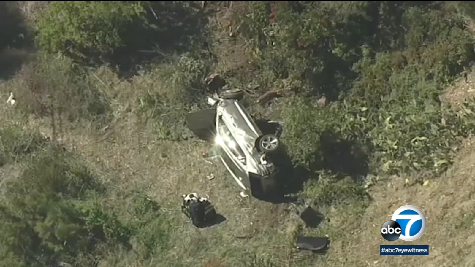 Stretch of road where Tiger Woods crashed is known for accidents, high speeds