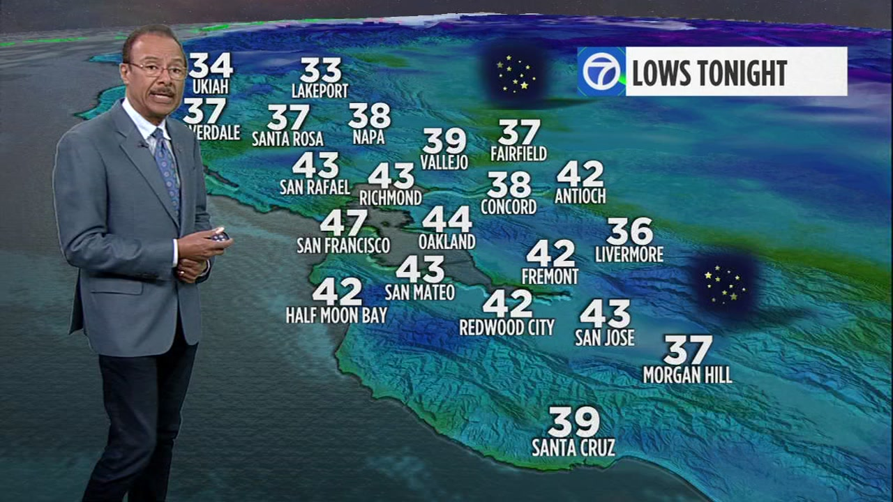 AccuWeather forecast: Clear, chilly night in Bay Area