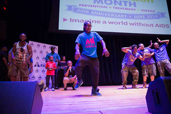 "<div class=""meta image-caption""><div class=""origin-logo origin-image ""><span></span></div><span class=""caption-text"">Pictured: Project Positive and Omega Psi Phi Fraternity Inc. at Step Up Against AIDS. 20th Anniversary of AIDS Education Month. (Photo/Holly E Clark)</span></div>"