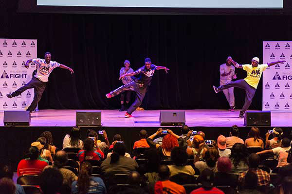 "<div class=""meta image-caption""><div class=""origin-logo origin-image ""><span></span></div><span class=""caption-text"">Pictured: Project Positive at Step Up Against AIDS. 20th Anniversary of AIDS Education Month. (Photo/Holly E Clark)</span></div>"