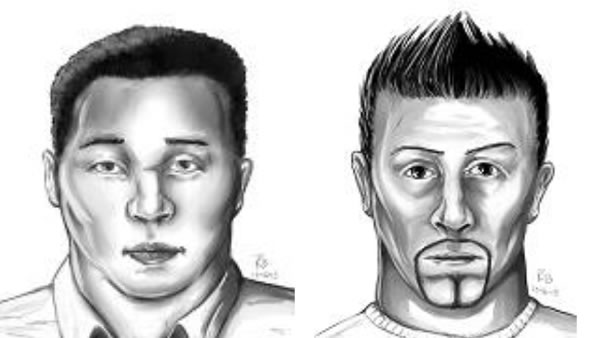 The Sacramento Police Department released sketches of the two suspects they believe were involved in the stabbing of Airman 1st Class Spencer Stone.