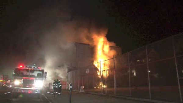 "<div class=""meta image-caption""><div class=""origin-logo origin-image none""><span>none</span></div><span class=""caption-text"">A stubborn fire burned through a row of stores and caused an apartment building collapse early Monday in Mount Vernon.</span></div>"