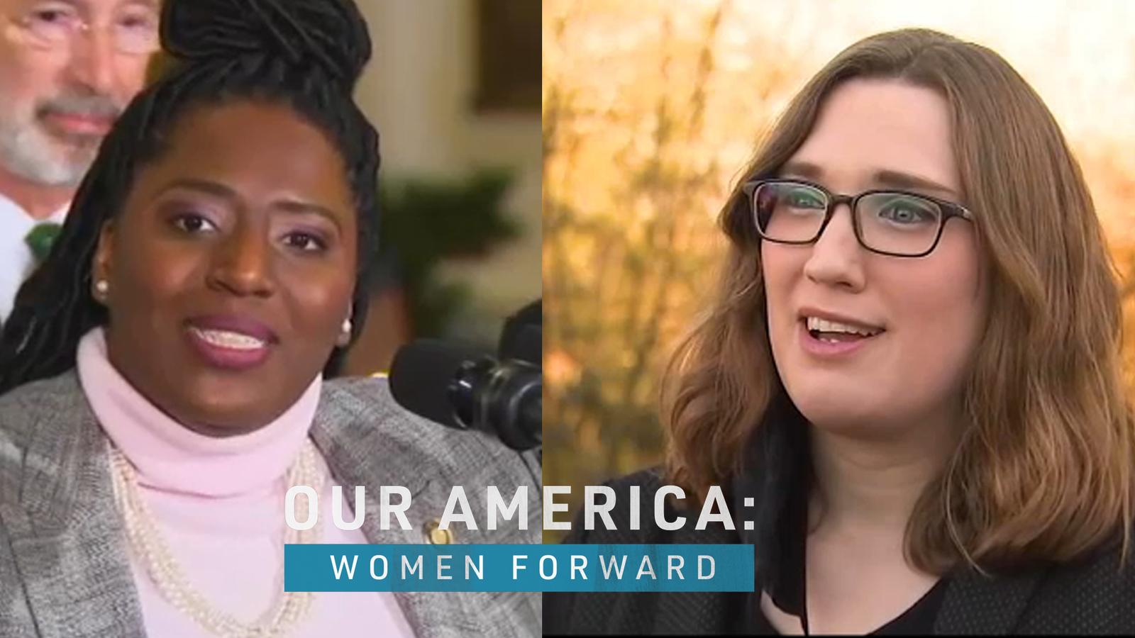 Women Forward: Pennsylvania, Delaware lawmakers are making history