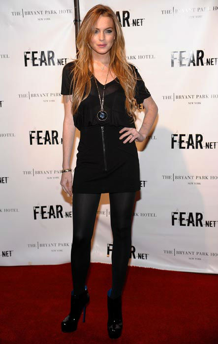 "<div class=""meta image-caption""><div class=""origin-logo origin-image none""><span>none</span></div><span class=""caption-text"">Actress Lindsay Lohan attends FEARnet's 2nd anniversary party at The Cellar Bar on Thursday, Oct. 30, 2008 in New York. (AP Photo/ Evan Agostini)</span></div>"