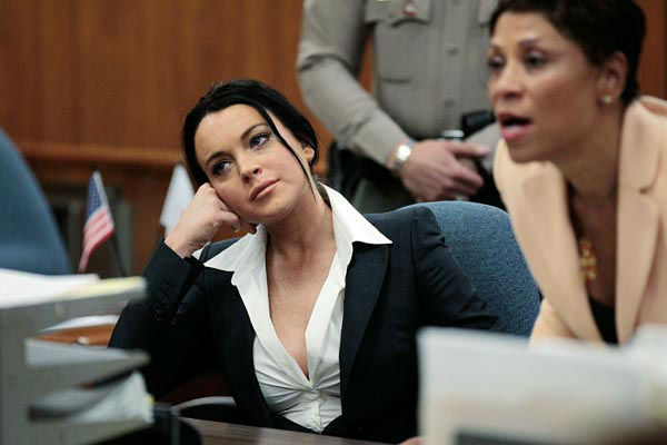 "<div class=""meta image-caption""><div class=""origin-logo origin-image none""><span>none</span></div><span class=""caption-text"">Actress Lindsay Lohan, left, is shown in court with her attorney Shawn Chapman Holley during a hearing in Beverly Hills, Calif., Monday, May 24, 2010. (AP Photo/ Jae C. Hong)</span></div>"