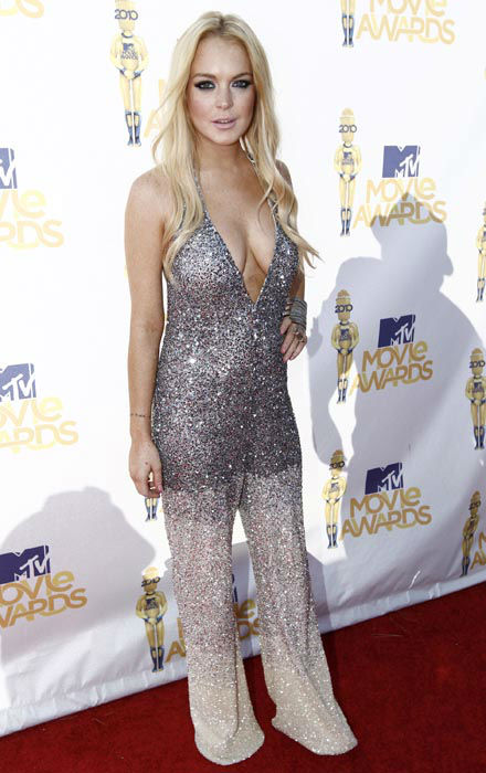 "<div class=""meta image-caption""><div class=""origin-logo origin-image none""><span>none</span></div><span class=""caption-text"">FILE - In this June 6, 2010 file photo, Lindsay Lohan arrives at the MTV Movie Awards in Universal City, Calif. (AP Photo/ Matt Sayles)</span></div>"