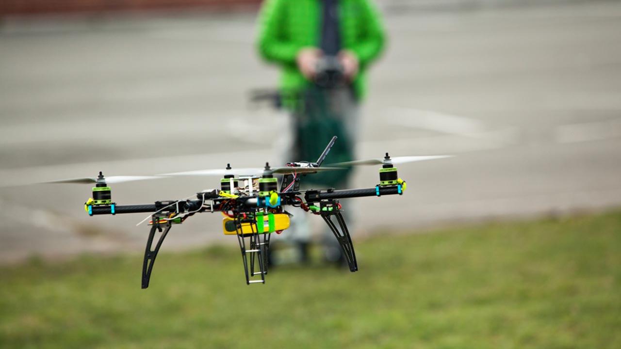 Quad-copter drone
