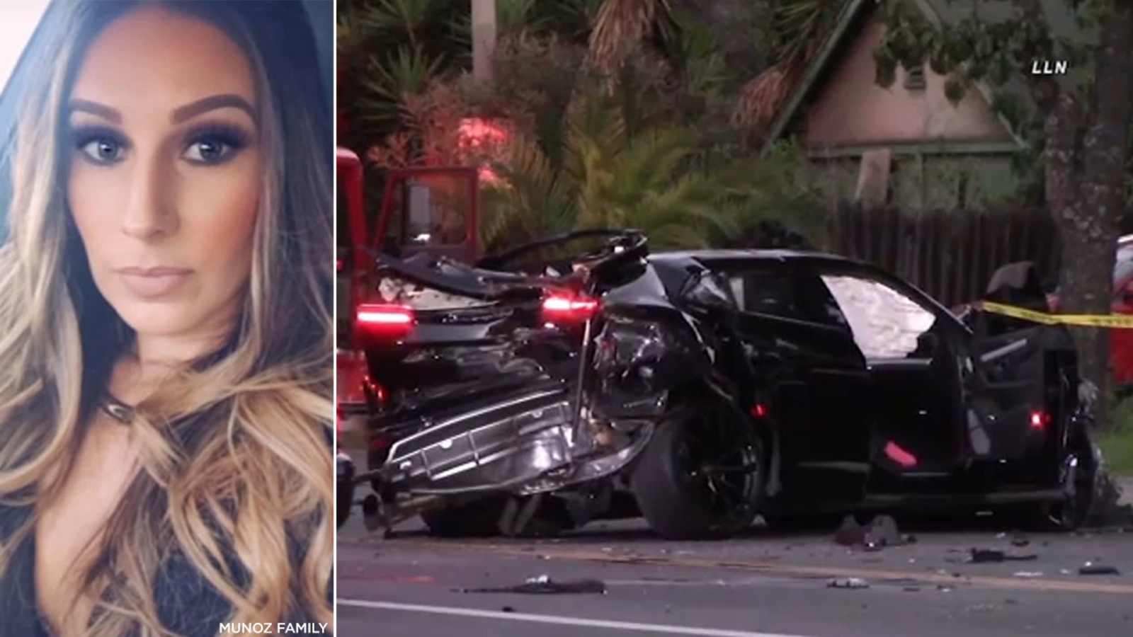 Charges filed against teen driver involved in West LA Lamborghini crash that killed 32-year-old woman