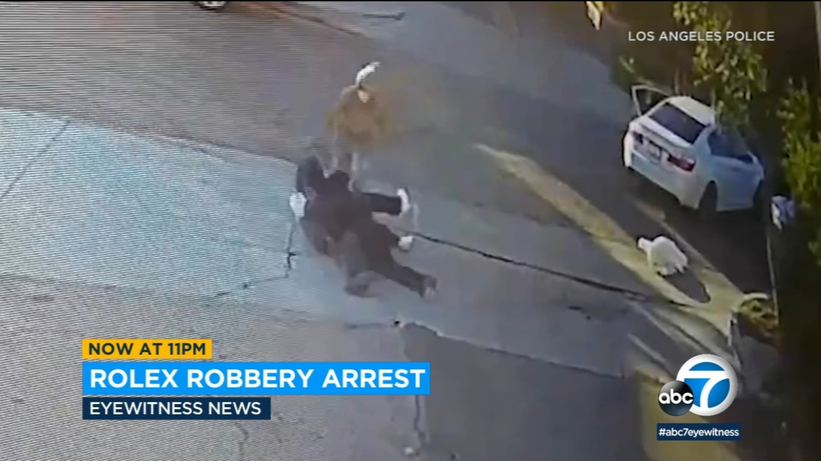 2 arrested for Rolex robberies in Los Angeles