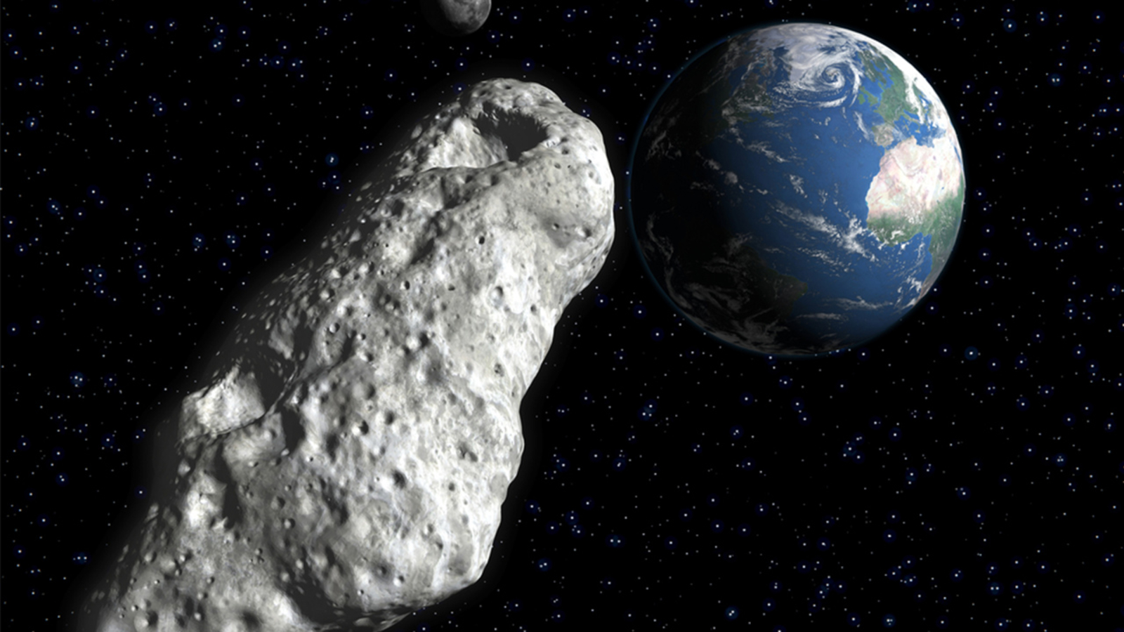 Massive asteroid to fly by Earth Saturday