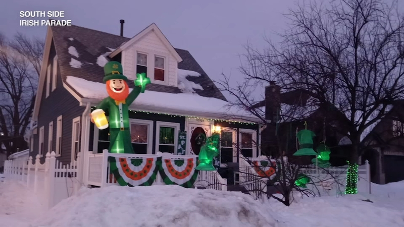 2021 Cox Cable Christmas Parade St Patrick S Day 2021 Shamrock Our Blocks Gets South Side Irish In Holiday Spirit Abc7 Chicago