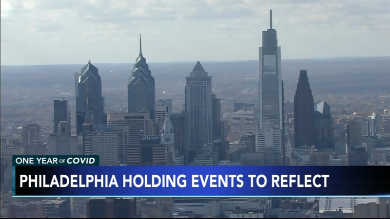 Covid 19 In Philly Philadelphia To Remember Victims Of Covid 19 With Day Of Reflection For One Year Anniversary 6abc Philadelphia