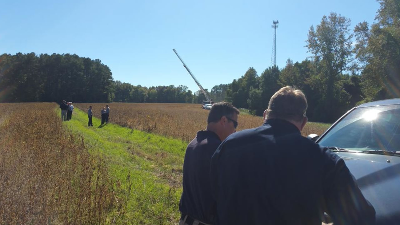 A man's body was found Tuesday in the 5800 block of US 401 North