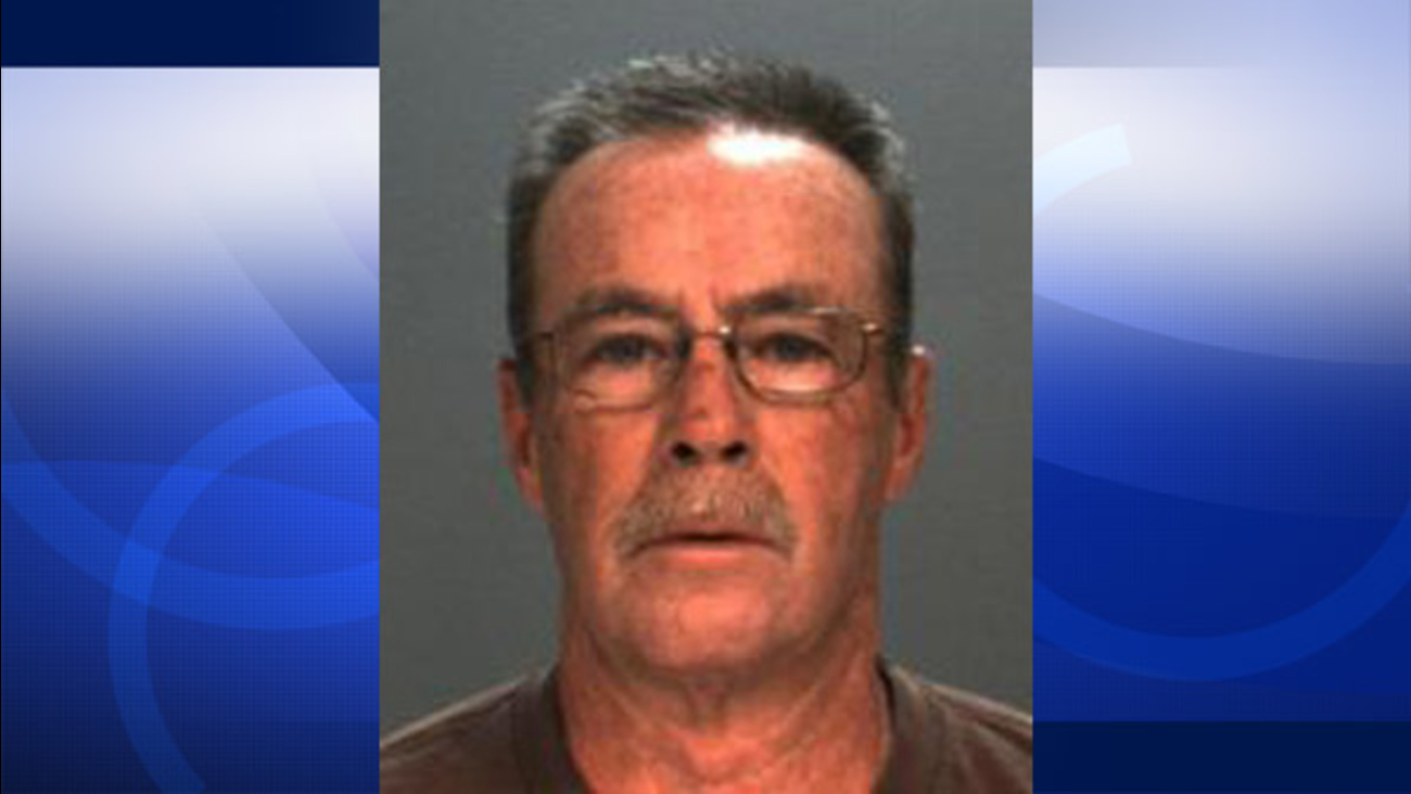 Gerard Finn, 57, is seen in this mugshot photo released by the San Bernardino County Sheriff's Department Tuesday, Oct. 20, 2015.