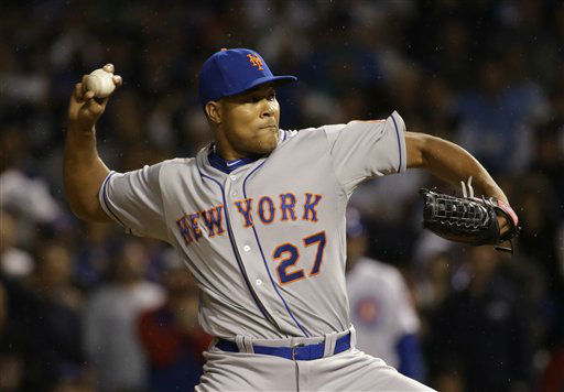 "<div class=""meta image-caption""><div class=""origin-logo origin-image none""><span>none</span></div><span class=""caption-text"">New York Mets pitcher Jeurys Familia throws during the ninth inning of Game 3. (AP Photo/Nam Y. Huh) (AP Photo/ Nam Y. Huh)</span></div>"