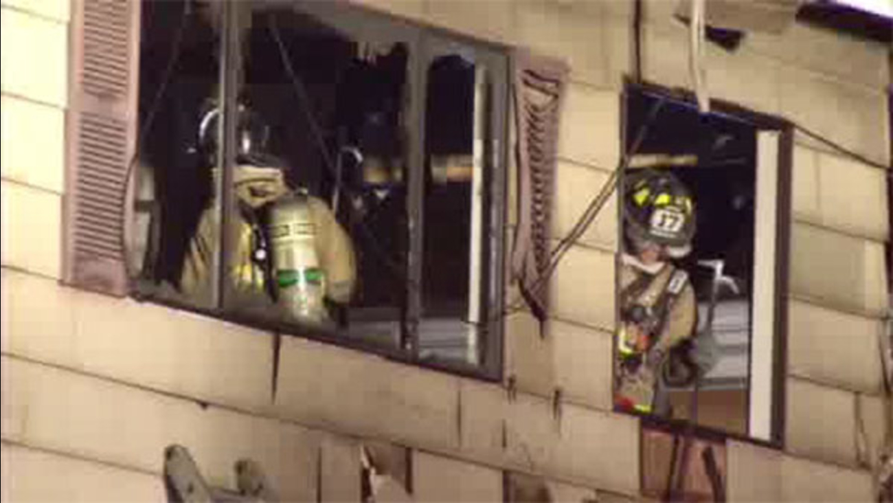 Fire forces 4 residents from Montco apartment