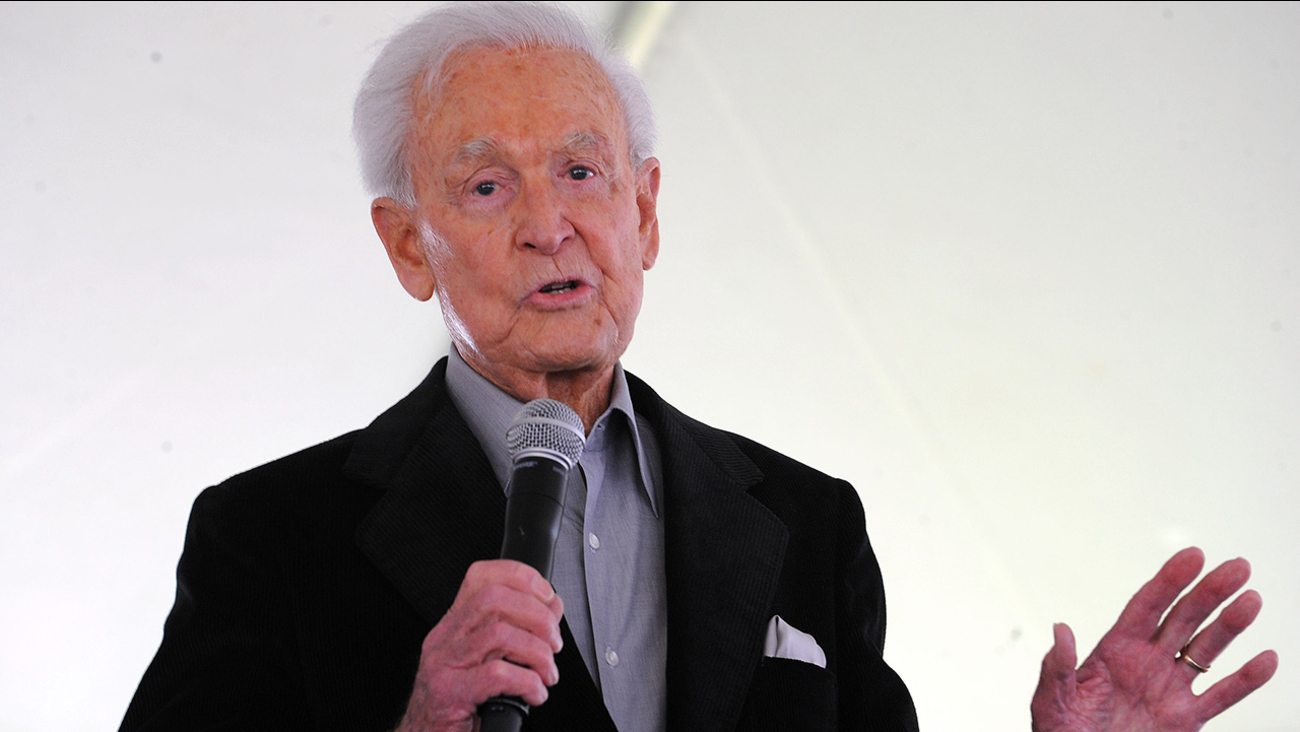 This April 25, 2009 file photo shows Bob Barker attending The Los Angeles Times Festival of Books at The University of California Los Angeles, in Los Angeles, Calif.