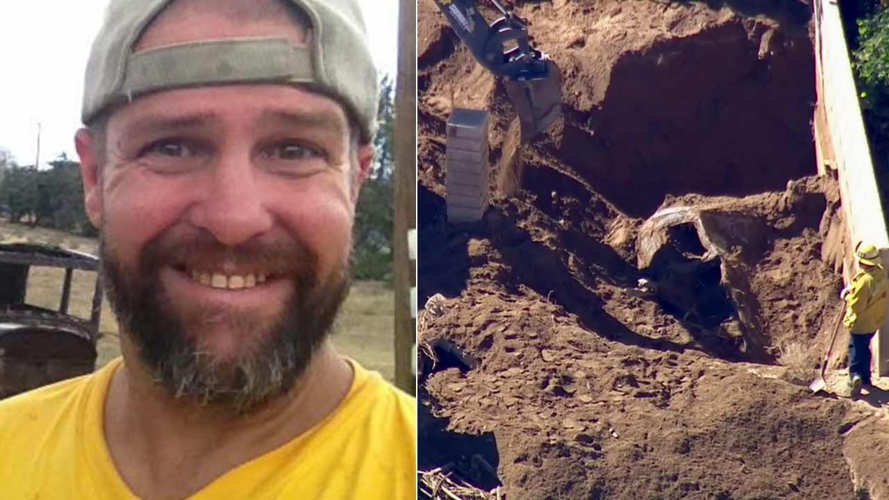 Robert Michael Rasmussen's body was found in a vehicle buried in six feet of mud in Palmdale on Tuesday, Oct. 20, 2015.