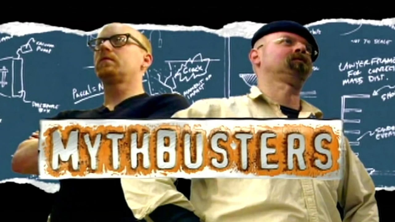 """Discovery Channel show """"Mythbusters"""""""