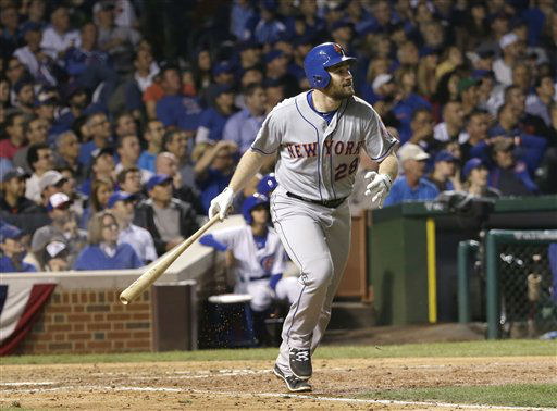 "<div class=""meta image-caption""><div class=""origin-logo origin-image none""><span>none</span></div><span class=""caption-text"">New York Mets' Daniel Murphy hits a two-run home run during the eighth inning of Game 4. (AP Photo/ David J. Phillip)</span></div>"
