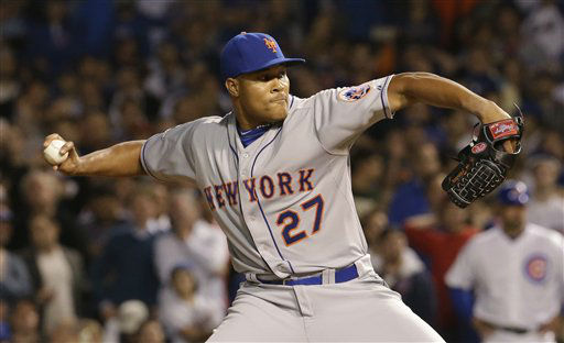 "<div class=""meta image-caption""><div class=""origin-logo origin-image none""><span>none</span></div><span class=""caption-text"">New York Mets pitcher Jeurys Familia throws during the ninth inning. (AP Photo/ Nam Y. Huh)</span></div>"