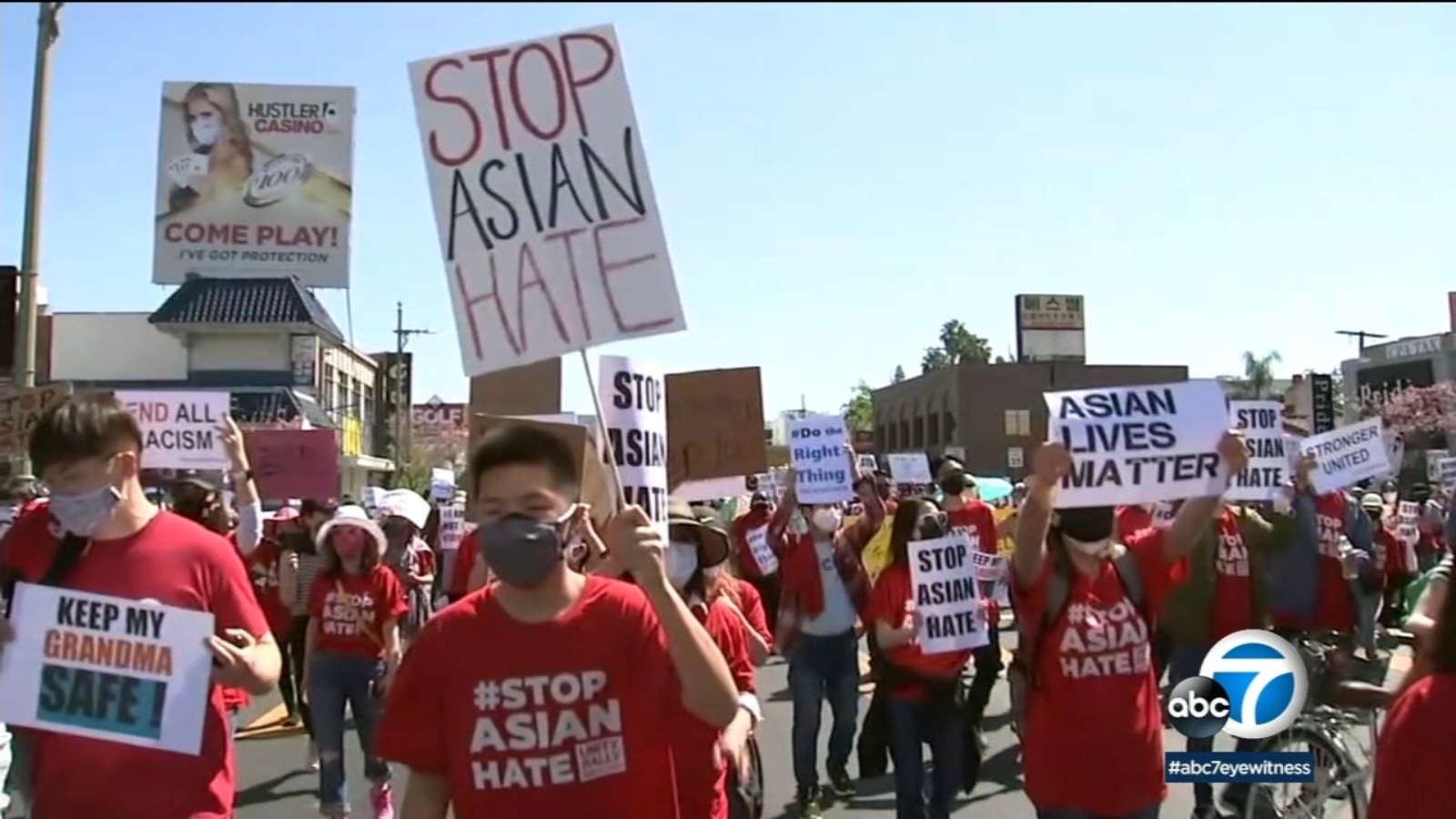 abc7.com: 'Stop Asian Hate' rallies held across SoCal and nationwide; demonstrators decry rise in violence