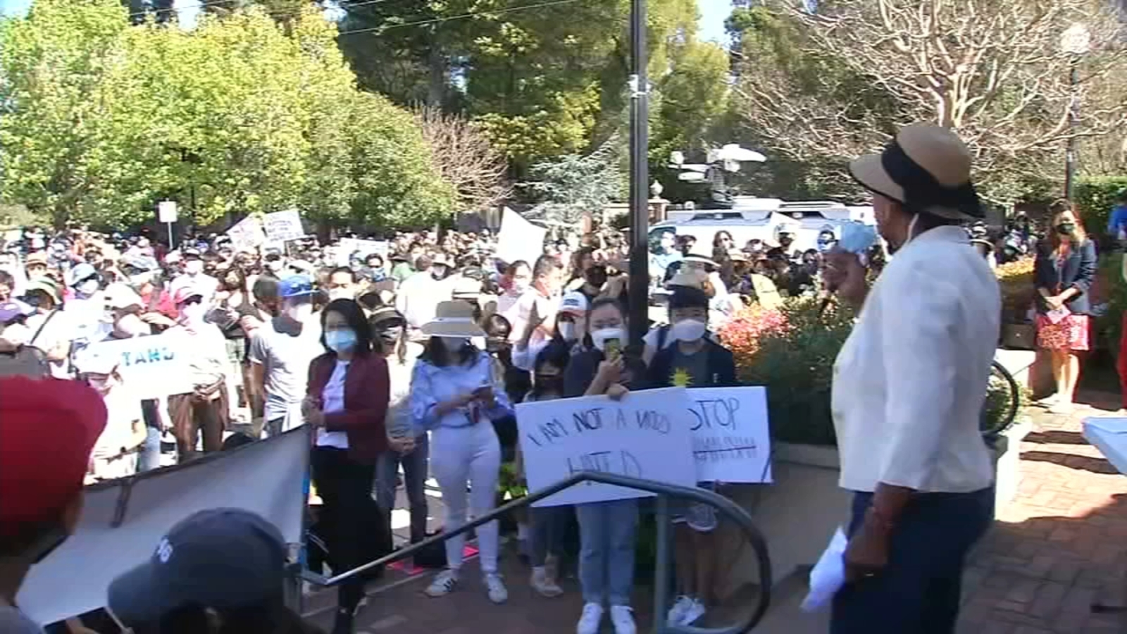 abc7news.com: 'We can stop hate together': Rallies held across the Bay Area to stop AAPI violence