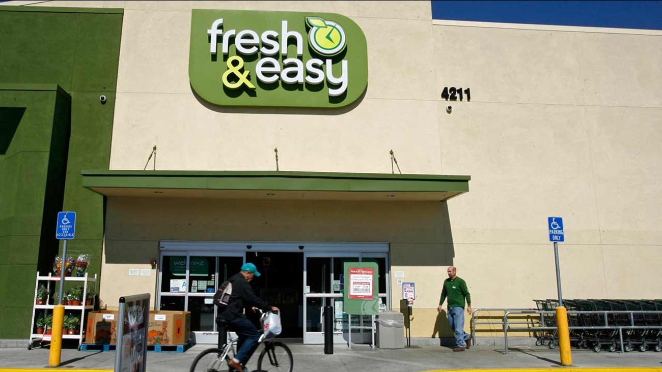 This is a Tuesday, Oct. 14, 2008 file photo of the Fresh & Easy Neighborhood Market in the Eagle Rock section of Los Angeles.
