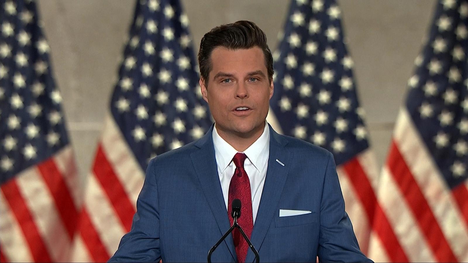 Few in GOP rush to defend Rep. Matt Gaetz amid sex trafficking probe - ABC7  Chicago