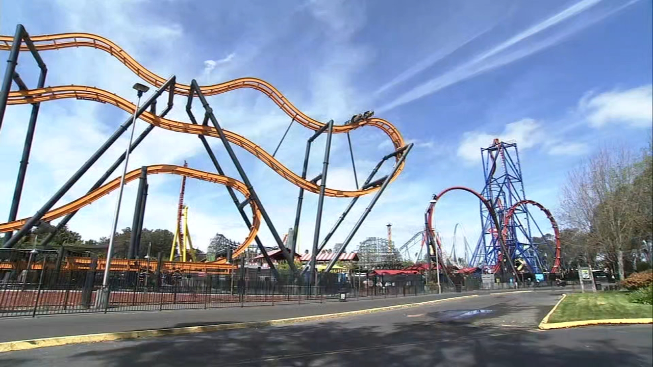Six Flags Discovery Kingdom Opens Rides To The General Public For 1st Time Since Pandemic Closure Abc7 San Francisco