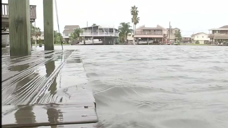 Rising Tides Ahead Of Storm Raise Concerns Around Galveston Island
