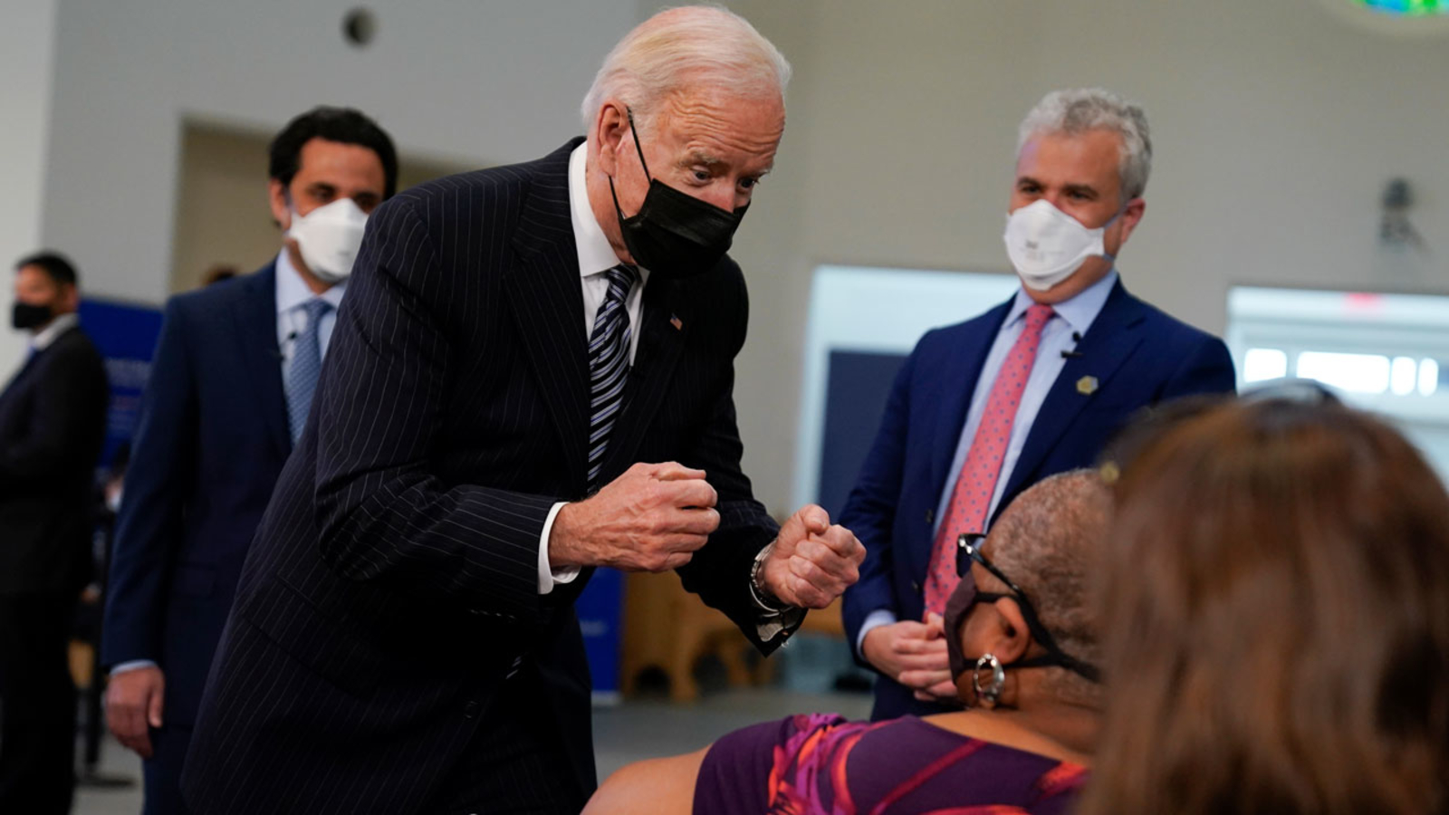 Biden moving US COVID-19 vaccine eligibility date to April 19 | WATCH LIVE