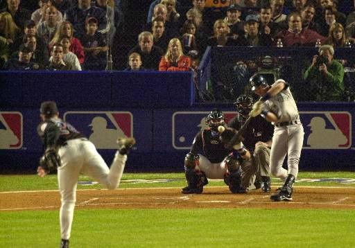 """<div class=""""meta image-caption""""><div class=""""origin-logo origin-image none""""><span>none</span></div><span class=""""caption-text"""">Yankees' Derek Jeter, right, hits a home run off New York Mets pitcher Bobby J. Jones in the first inning of game 4. (AP Photo/Bill Kostroun) (Photo/Ÿç4ֵ·aó©~zÐóØ4<Ãì×ËaøQås'=;W©}†K1ێ™Jdš^Ÿœ˜@bA%""""qúg҅˜wA¡ íÈ-œ{iøRÜ1ЃëJ‹±A#Œc óõ©™œž_ZñÕÀŒF0Ì)</span></div>"""