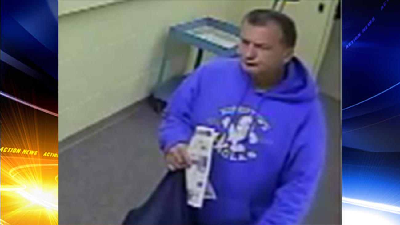 Police: Man sought for stealing purse at Lansdale church
