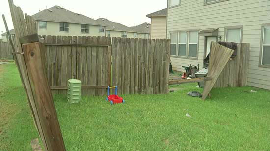 "<div class=""meta image-caption""><div class=""origin-logo origin-image none""><span>none</span></div><span class=""caption-text"">Damage to a fence following severe storms in the Houston area (KTRK Photo)</span></div>"