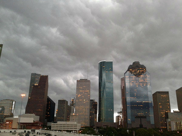"<div class=""meta image-caption""><div class=""origin-logo origin-image none""><span>none</span></div><span class=""caption-text"">A photo of Houston with the storm forming over it.  If you have photos, email them to news@abc13.com or upload them using #abc13eyewitness (Photo/iWitness viewer)</span></div>"