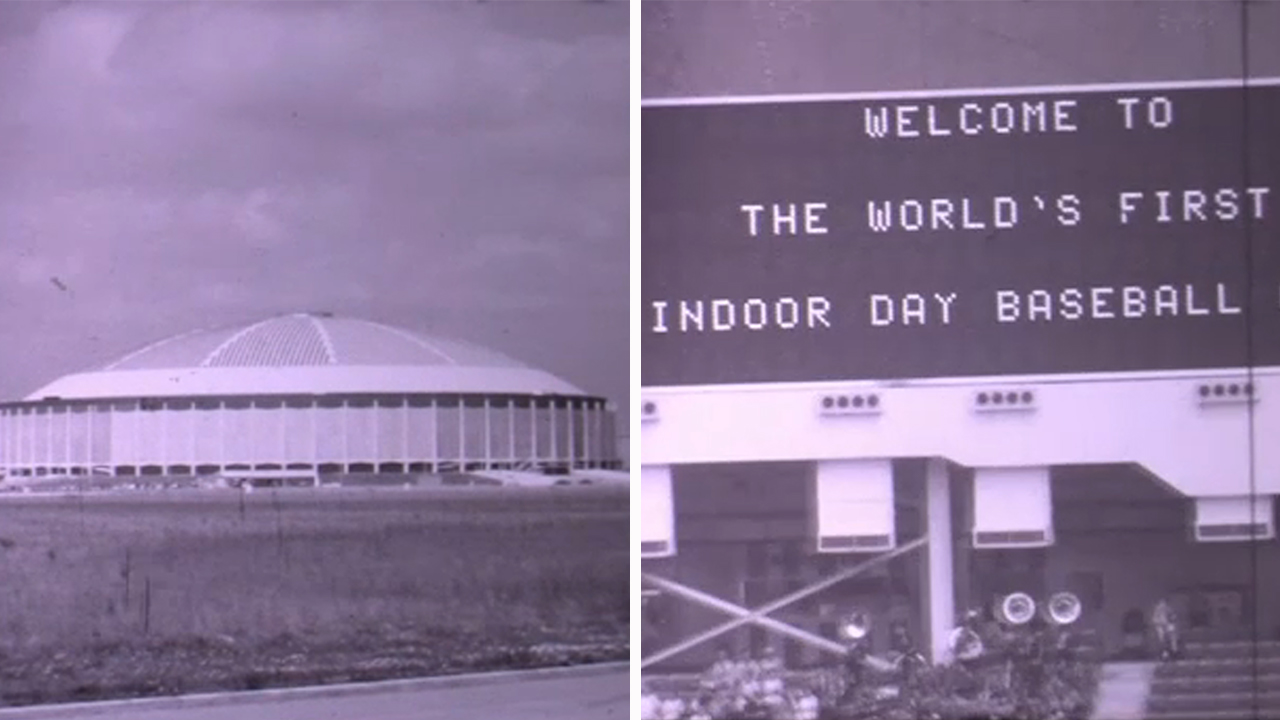 Looking back at the first Houston Astros game ever played in the Astrodome in 1965