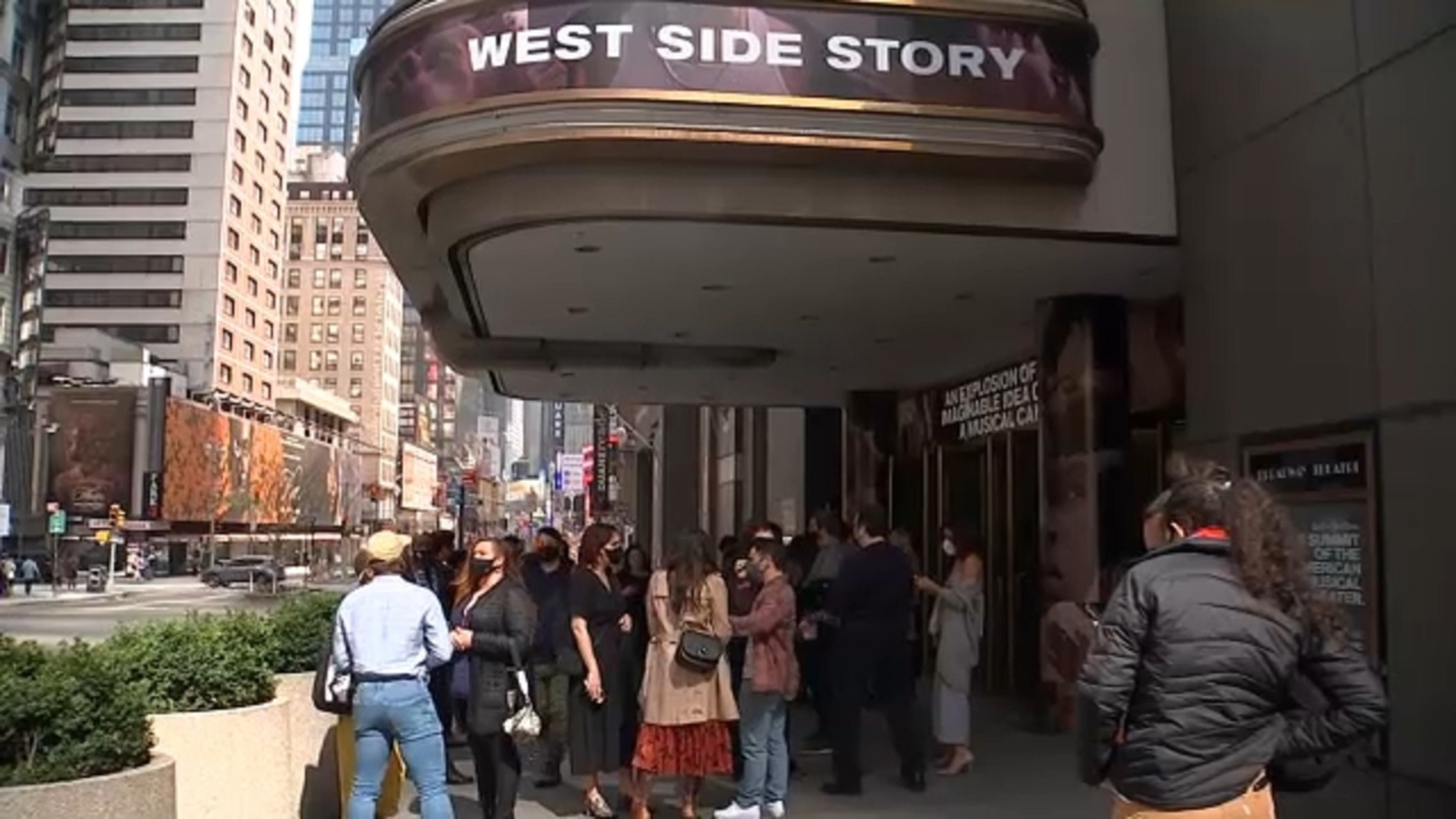 Second weekly pop-up performance held at Broadway theater