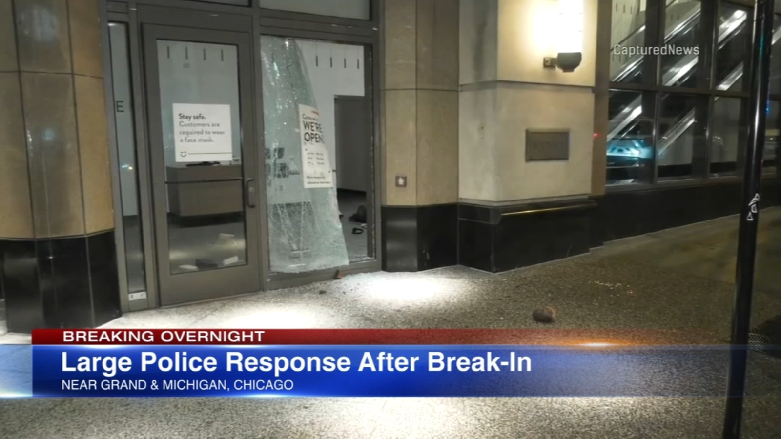 Burglars break into Nordstrom on Chicago's Mag Mile