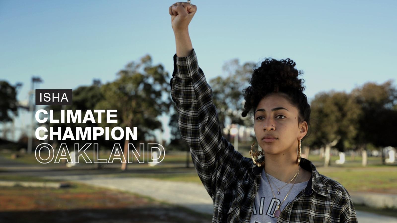 18-year-old activist Isha Clarke champions social, environmental change to avert climate 'apocalypse'