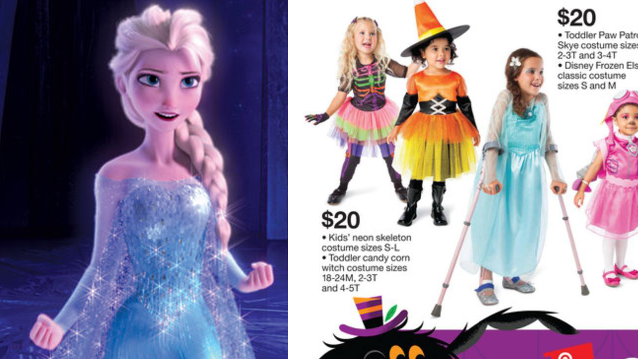 Mom praises Target for featuring child with special needs in Halloween costume ad | abc7chicago.com  sc 1 st  ABC7 Chicago & Mom praises Target for featuring child with special needs in ...