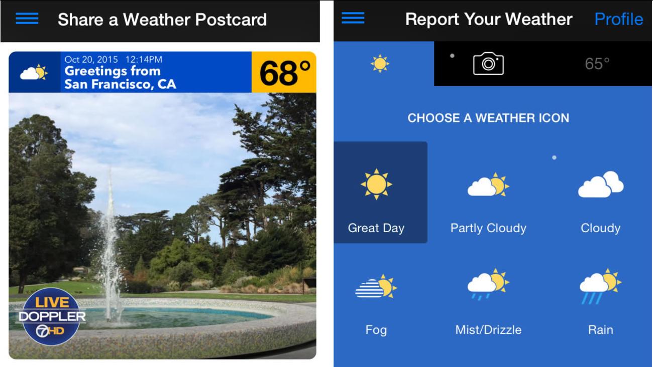 ABC7 Weather App
